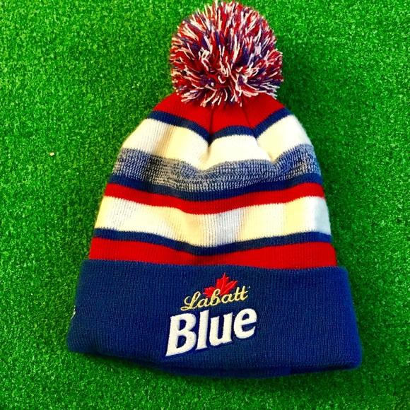 859f9065600d0 Labatt Blue Winter Hat. M 5a5fa73f8af1c56ab5a898a3